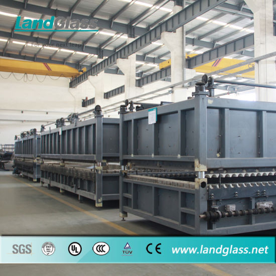 Landglass Horizontal Roller Hearth Bent Tempered Glass Furnaces pictures & photos
