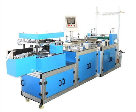 Full-Automatic Disposable Medical Waterproof Bouffant Ear Cover Making Machine