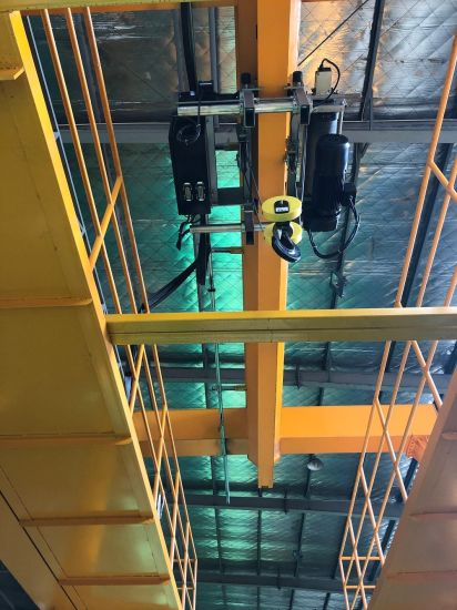 High Strength Hand-Operated Low Headroom Electric Hoists