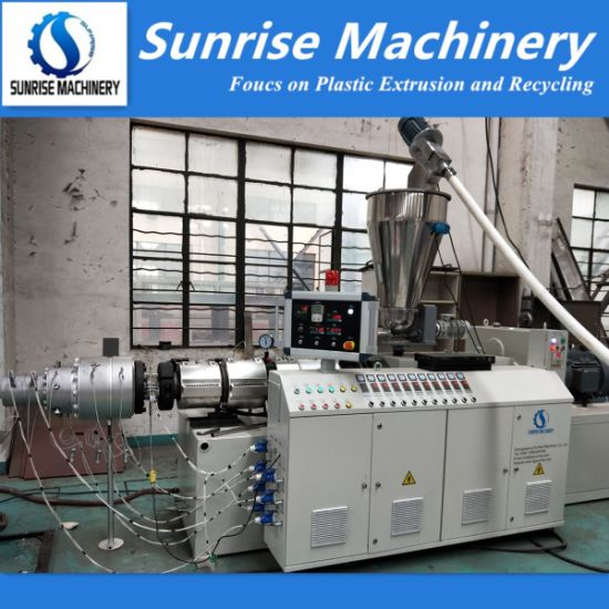 PVC Electric Conduit Wire Pipe Tube Extrusion Production Line