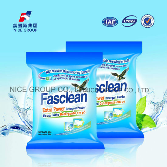 Laundry Products 500g Fasclean Extra Power Washing Detergent Powder