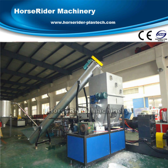 Waste Plastic Recycling Plant Pelletizing Machine with Ce/ISO Certification