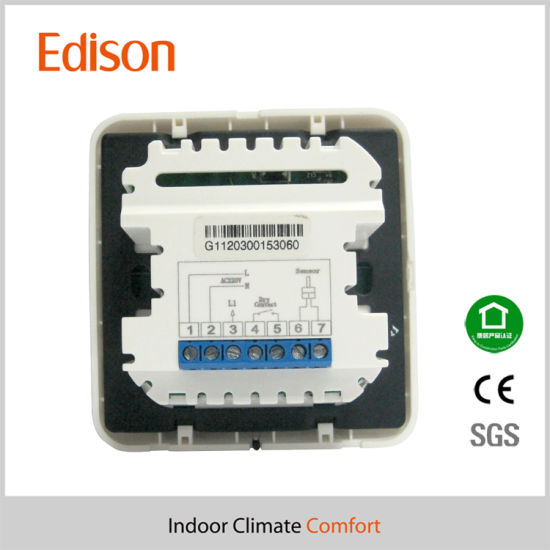 LCD Display Digital Room Thermostat (TX-868) pictures & photos