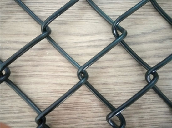 China 50 X 50 mm Hole PVC Coated Chain Link Fencing/Diamond Wire ...