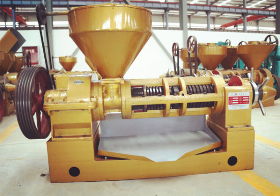High Yield Oil Expeller Machine Gx Oil Press Yzyx140cjgx 12ton Per Day pictures & photos