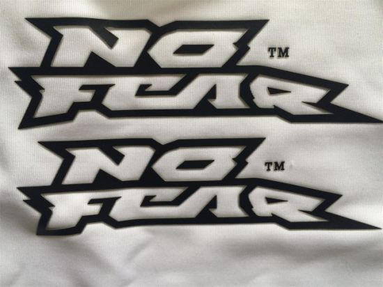 Customized Print Color Reflective Heat Transfer Labels For Clothing