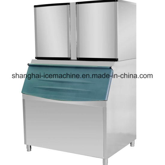 Fully Automatic Large Capacity with 2ton Cube Ice Machine, Commercial Ice Cube Machine