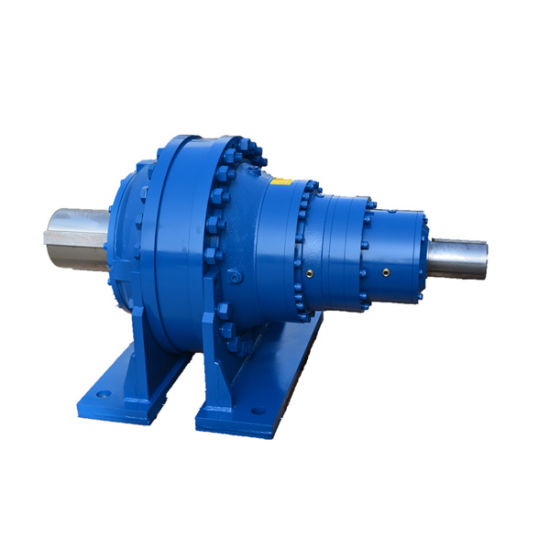 Inline Planetary Low Backlash Planetary Gearbox Hollow Shaft Mounted pictures & photos