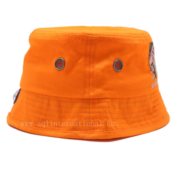 192f5763c947b Custom 100% Cotton Embroidery Fashion Kids Bucket Hat Children Bucket Hat  Wholesale