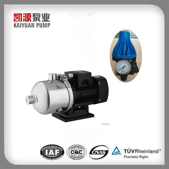 1-1/2 Horsepower Whole House Water Pressure Booster Pump with Stainless  Steel Housing and Controller Starting Pressure
