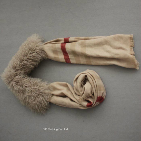 Fashion Real Cashmere Warm Scarf pictures & photos