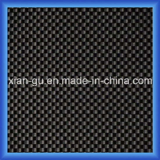 3k 200GSM Plain Carbon Fiber Cloth pictures & photos