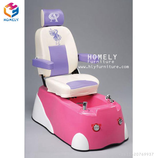 China Nail Salon Furniture Cartoon Whirlpool Kids SPA Pedicure Chair ...