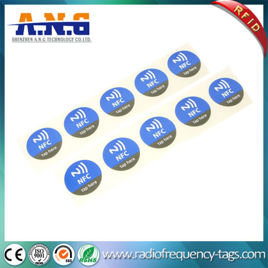 Full Color Wireless Programming RFID Tags Ultralight Customized Free NFC Tag