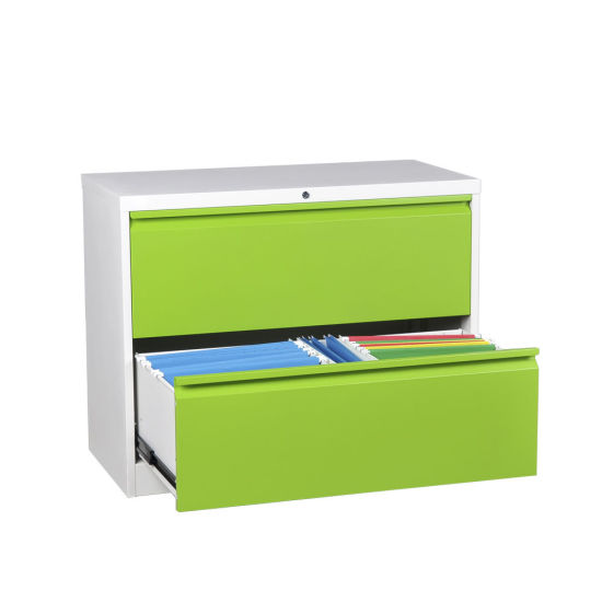 Metal Office Furniture Lateral 3 Drawer Steel File Cabinet For Manage  Document