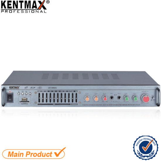 HiFi Car Bass Tube Amplifier Stereo HiFi Sound Quality Professional Digital Power Amplifier