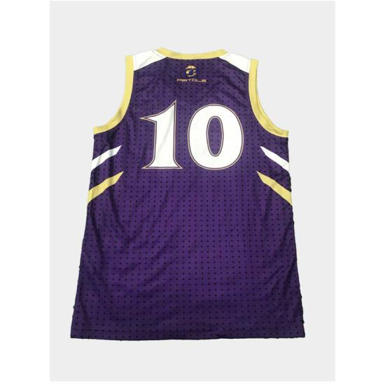 Custom Sublimation Printed Basketball Shirt for Academy pictures & photos