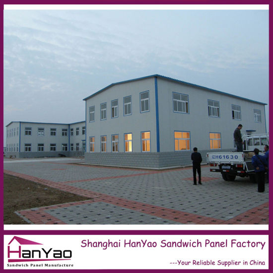 High Quality Prefabricated Steel Structure Building for Office/Living House