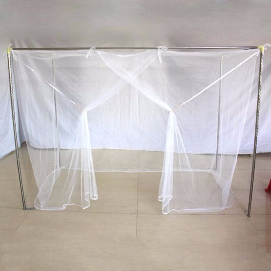Four open doors Four Corner Post Bed Canopy Mosquito Net Oversized home practical mosquito net 190210240CM