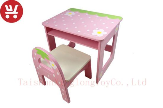 XL10212 Wooden Playhouse Flower Tables and Chairs pictures & photos