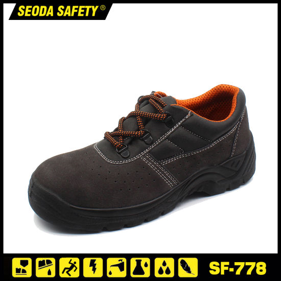 Brand Safety Shoes Work Time Safety Shoe