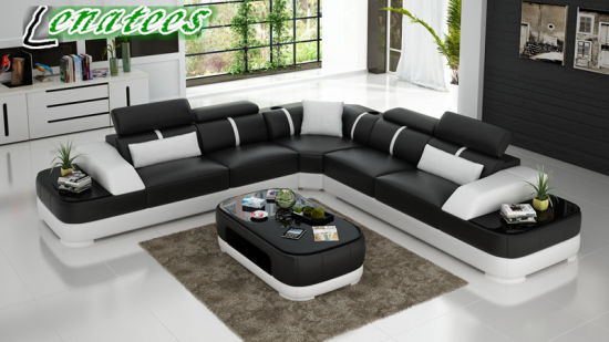 King Size High End L Shaped Sofa