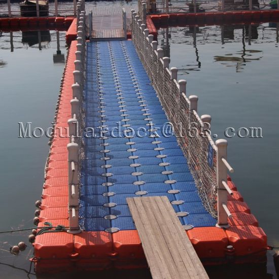 Plastic HDPE Floating Pontoon Walkway Bridge for Sale