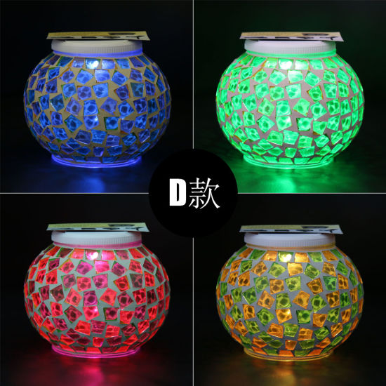 2019 Best Sale Wedding Party Multicolorful Ground Wall Solar Round Decoration Lantern Lamp Light pictures & photos