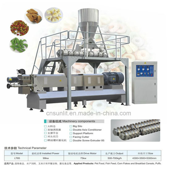 Core Filling Snack Making Machine pictures & photos