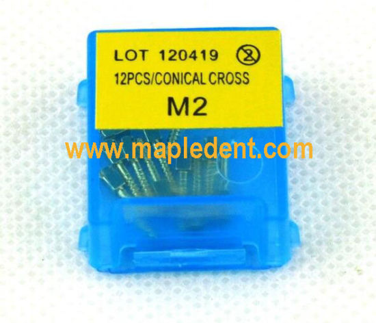 dental implant golden plated screw post 12pcsbox