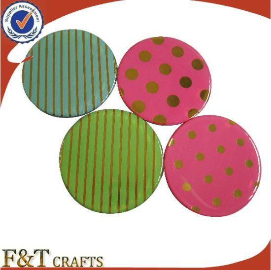 china cheap bulk gift custom pvc round shape printing spot fridge