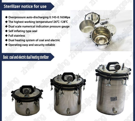 24L Pressure Autoclaves/Portable Steam Sterilizer pictures & photos