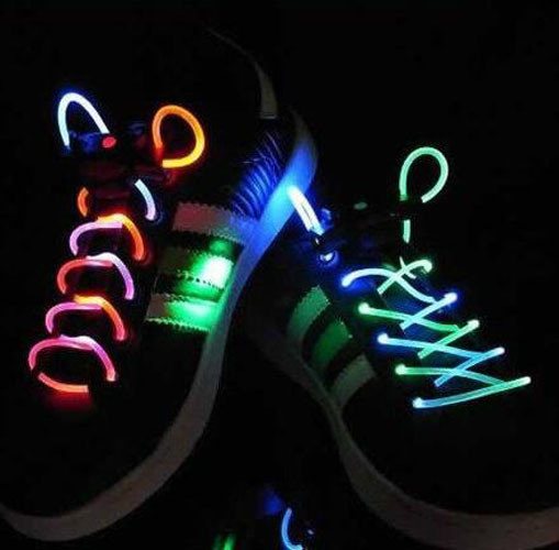 High Quality LED Flashing Shoelace with Durable and Safe pictures & photos