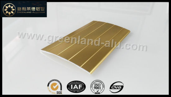 Glt153 Aluminum Wide Wood Flooring Trims with Hight Quality Anodized Color to Australia pictures & photos