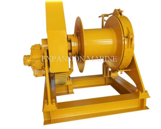 15ton Hydraulic Power Unit Single Drum Winch for Sale