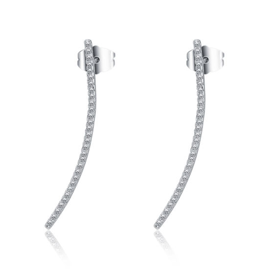 China Fashion Jewelry Wholesale White Gold Ear Cuff Earrings Designs