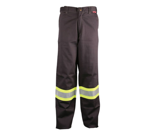 Nfpa2112 Cotton Flame Retardant Work Pants with Reflective Tape