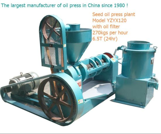 Guangxin Screw Oil Press 6.5ton a Day Soybean Oil Press pictures & photos