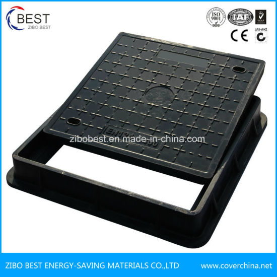 D400 En124 Composite SMC FRP Square Manhole Cover Wholesales pictures & photos