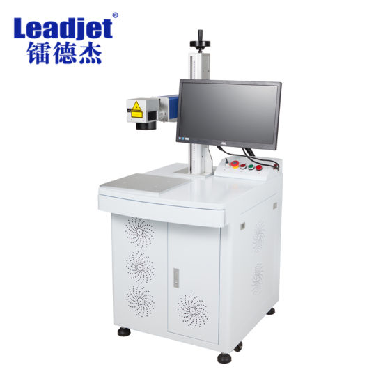 Big Discount Desktop Fiber Laser Marking Machine for Date Time, Logo on Metal HDPE PVC Pipe Tube China pictures & photos