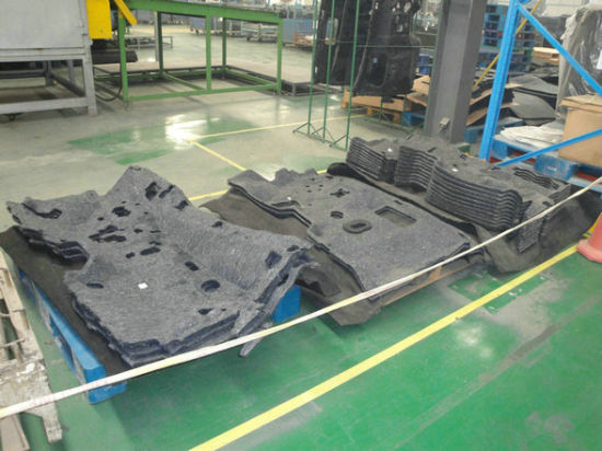 Machine To Make Car Cover Fabric Non Woven Car Interior Mat Line, Non Woven  Auto Interior Fabric Production Line