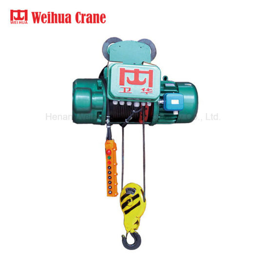 Weihua Electric Wire Rope Monorail Hoist 10t Lifting Equipment