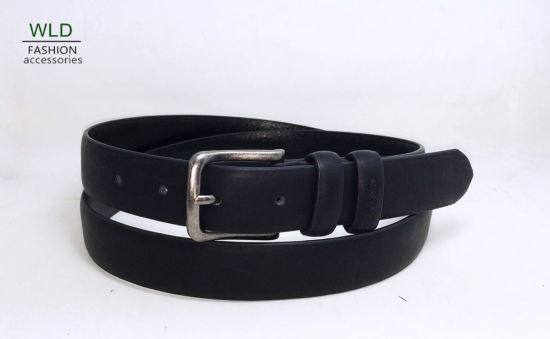 Leisure Men's Leather Belt with Pin Buckle M869