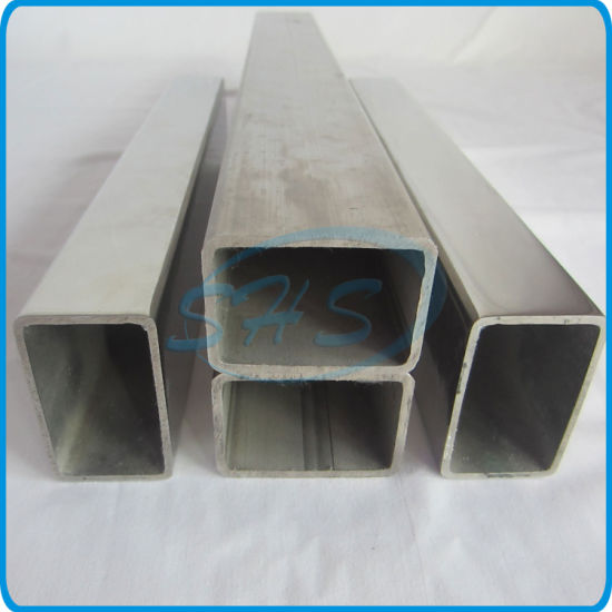 Stainless Steel Welded Rectangular Tubes for Handrails pictures & photos