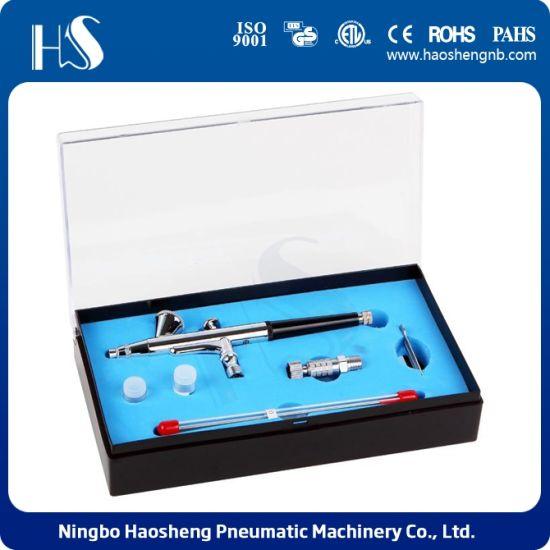 China Hs 108kt Professional Nail Art Kits Mini Spray Gun Kit China