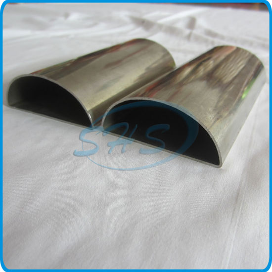Stainless Steel Semicircular Shape Tubes pictures & photos