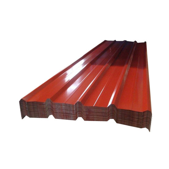 Colored Galvanized Corrugated Iron Roofing Sheet for Roof Tiles pictures & photos