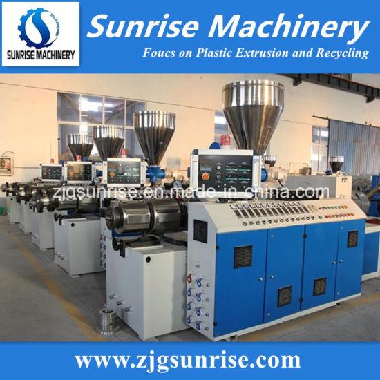 Zhangjiagang Sunrise Machinery Good Quality PVC Extruder