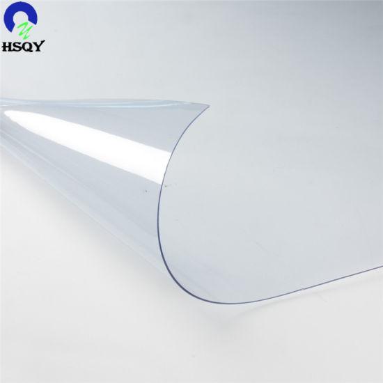 0.1mm-6mm Normal Clear PVC Transparent Soft Rolls/Sheet