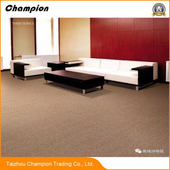 [Hot Item] Th00 50*50cm Nylon Commercial Living Room Floor Mat Fireproof  Square Carpet Tile